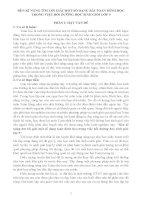 skkn RÈN KĨ NĂNG TÌM LỜI GIẢI MỘT SỐ DẠNG BÀI TOÁN HÌNH HỌC TRONG VIỆC BỒI DƯỠNG HỌC SINH GIỎI LỚP 9