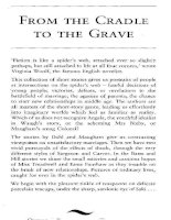 FROM THE CRADLE TO THE GRAVE SHORT STORIES