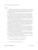Pre intermediate reading comprehension test 03