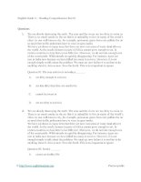 English grade 11   reading comprehension test 01