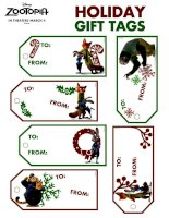 Zootopia holiday gift tags
