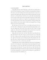 ĐỀ tài CHUYỂN DỊCH cơ cấu KINH tế ở HUYỆN QUẢNG điền, TỈNH THỪA THIÊN HUẾ TRONG QUÁ TRÌNH CÔNG NGHIỆP HOÁ, HIỆN đại HOÁ