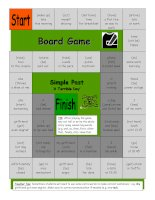 726 board game  a terrible day simple past