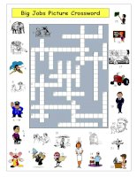 1900 big jobs picture crossword