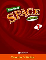 Grammar space beginner 1 TG
