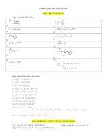 Các dạng toán đại số lớp 8