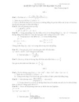 Tuyển chọn 36 đề thi đại học môn toán có lời giải chi tiết