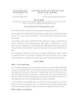 Quyết định 25/2016/QĐ-UBND quy định chức năng và cơ cấu tổ chức của Sở Tài chính