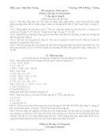 Đề cương ôn môn toán 6