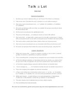 internet discussion words question sheet
