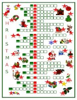 38519 christmas crossword