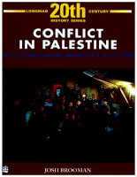 (Longman 20th century history series) josh brooman conflict in palestine  jews, arabs and the middle east since 1900 longman group united kingdom (1989) 1369948523 pdf