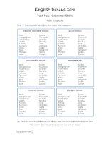 noun categories