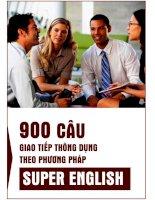 900 câu khẩu ngữ tiếng anh
