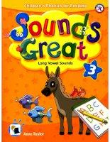 Long vowel sounds book