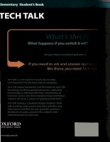 Tech talk elementary SB