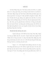 tiểu luận cao học  môn lịch sử Xây dựng Đảng cộng sản Việt Nam