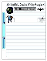 5426 writing clinic creative writing prompts 4  the haunted house