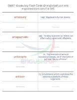 GMAT vocabulary flash cards45