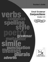 great grammar   conjunctions