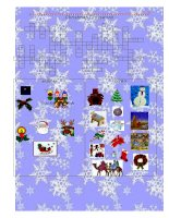638 christmas crossword