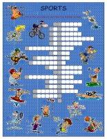 51988 sports crossword puzzle