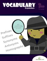 vocabulary expander grade 3 writing workbook