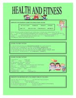 1460 health and fitness