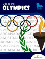 ode to the olympics