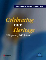 Celebrating our heritage   downloadable resources (from website)