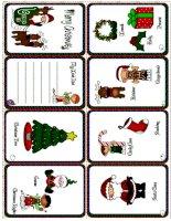 14776 christmas minibook