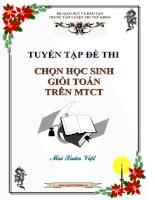 Tuyển tập bộ đề thi thử toán MTCT chọn HSG cấp tỉnh