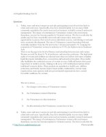 A2 english reading test 01