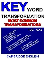 KEY WORD TRANSFORMATION COMPILATION 3