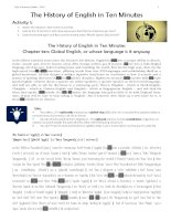 046   the history of english in ten minutes