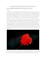 """Văn mẫu lớp 8: Cảm nhận về tác phẩm """"Chiếc lá cuối cùng"""" của O. Hen-ry"""