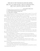 MỘT SỐ VẤN ĐỀ VỀ ĐÁNH GIÁ CHƯƠNG TRÌNH,  SGK NGỮ VĂN HIỆN HÀNH VÀ ĐỀ XUẤT ĐỊNH HƯỚNG  BIÊN SOẠN CHƯƠNG TRÌNH, SGK MỚI