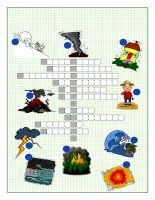 42746 natural disasters crossword puzzle
