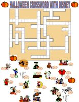 2030 halloween crossword