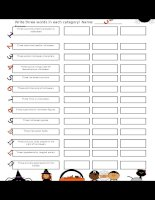 34596 a 5 minute activity halloween edition