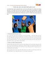 5 điều tân sinh viên nhất thiết phải tránh