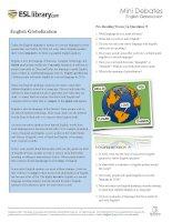english globalization
