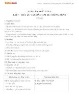Giáo án Ngữ văn 6 tuần 7 tiết 25