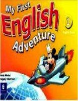 MY FIRST ENGLISH ADVENTURE 1  PB