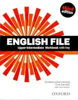 English file 3 edition upper intermediate workbook