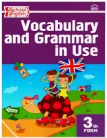vocabulary and grammar in use 3 klass