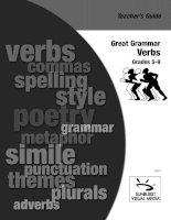 great grammar   verbs