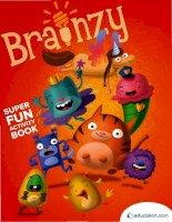 brainzys super fun activity book