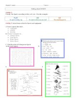8992 verbs and sports