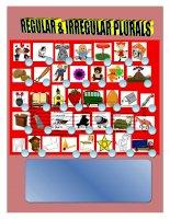 4059 regular and irregular plurals